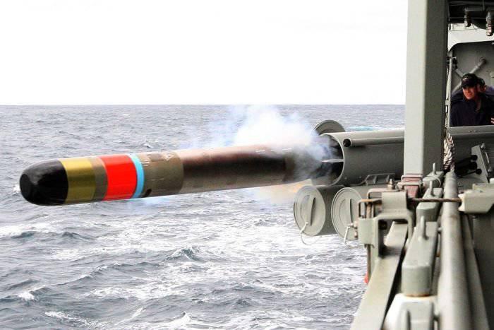 Marinha australiana completou o procedimento para adotar um torpedo leve MU-90