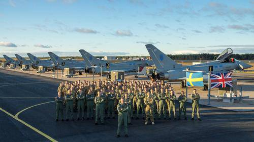 Air Force of five Western countries rehearsed control over the Arctic