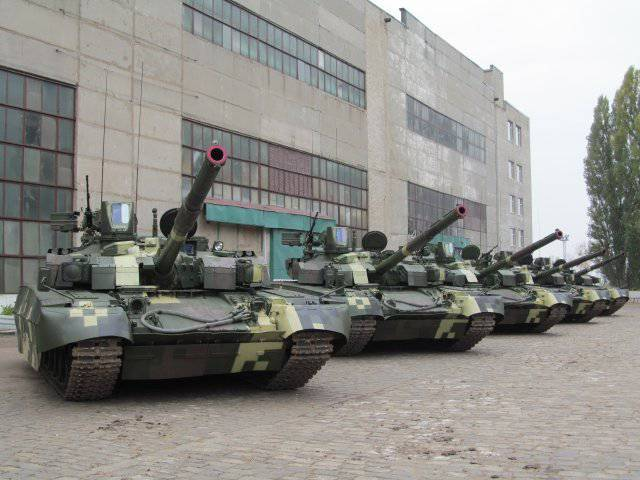 The first Oplot tanks for Thailand were shown in Kharkov