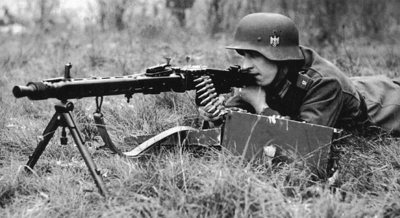 हिटलर ने देखा और उसके उत्तराधिकारी (MG.42 से MG3 तक)