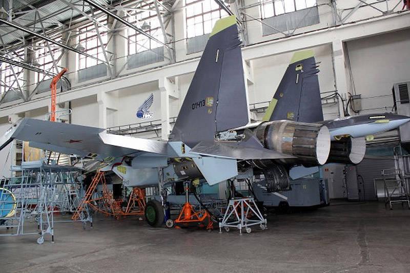 Истребитель Су-35С: в ожидании Т-50
