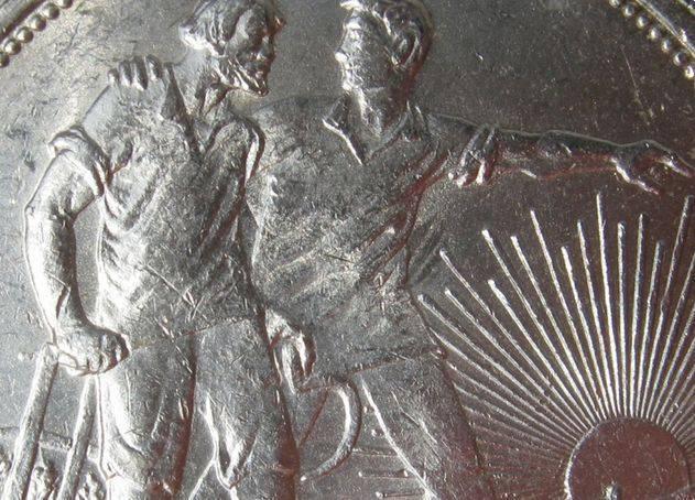 第一枚苏联硬币铸造的地点和原因