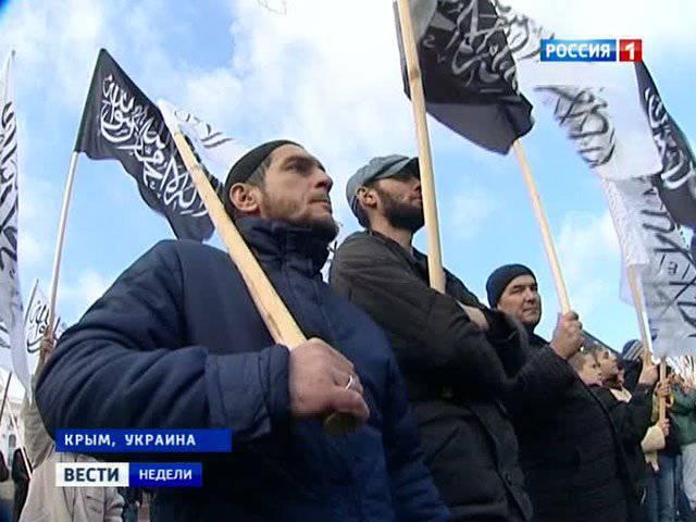 """Islâmicos radicais """"ocupam"""" a Ucrânia"""