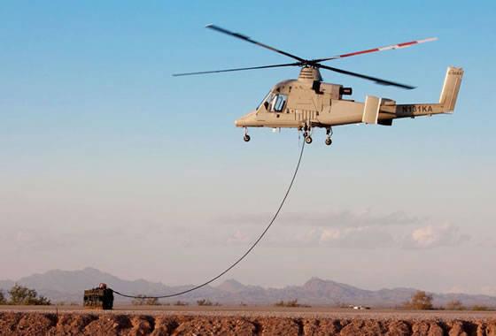 अमेरिकी भू सेना कार्गो परिवहन के लिए के-मैक्स यूएवी की खरीद पर विचार कर रही है