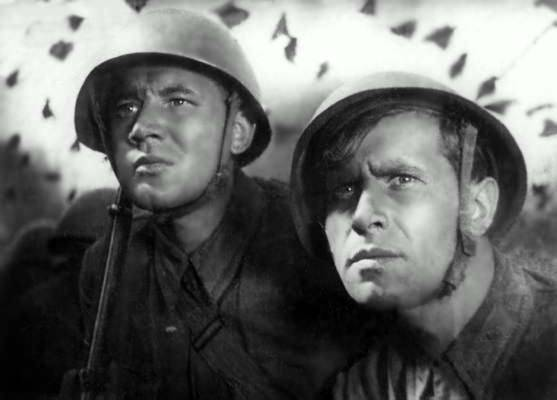 Old war films and criticism