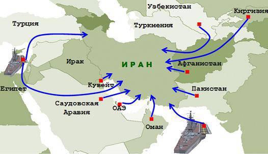 Sobre la alianza militar de Israel y Arabia Saudita contra Irán.