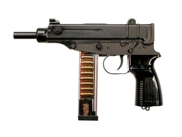 Travmatik bir versiyonda efsanevi Akrep tabancası - Scorpion Sa vz.61 Rubber
