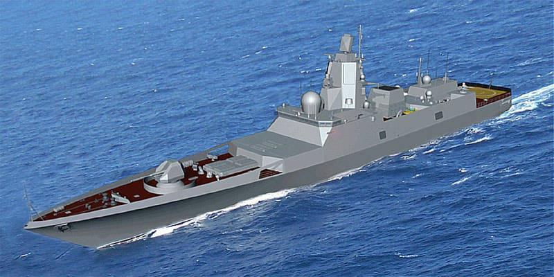 "Marinha russa deixou sem a mais nova fragata ""almirante Gorshkov"""
