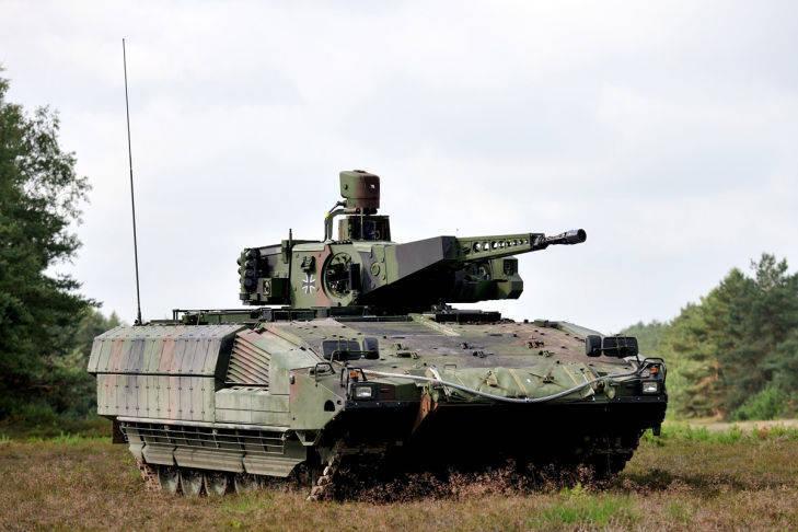 BMP Puma no adoptado por la Bundeswehr