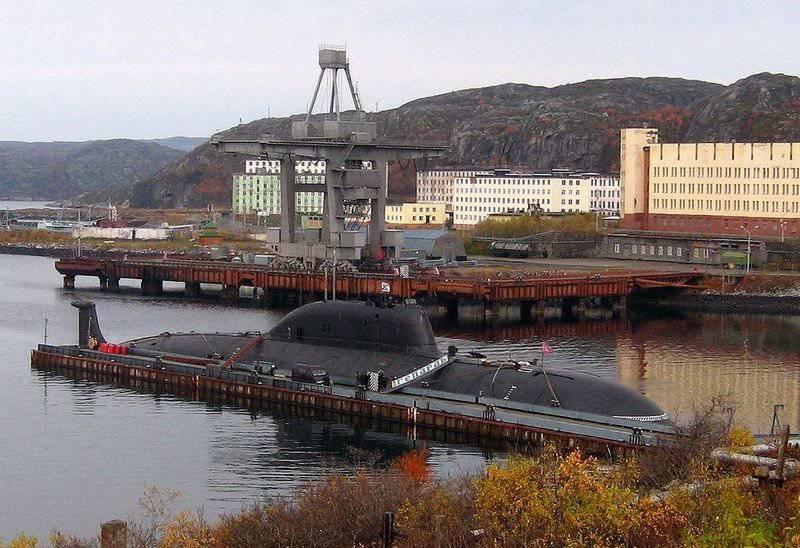 """La flotte russe modernise les sous-marins nucléaires du projet 971 """"Pike-B"""""""