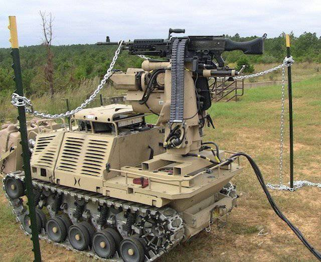 United States in search of autonomous combat robots