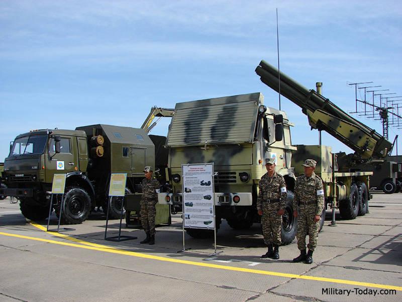 O resultado da cooperação entre Israel e o Cazaquistão: lançador de foguetes Naiza