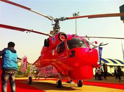 अंटार्कटिक के लिए चीन को एक नया Ka-32 हेलीकाप्टर प्राप्त हुआ