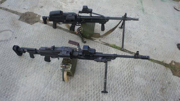 Пулемет печенег схема