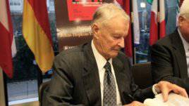 Brzezinski: In today's world, global hegemony is impossible
