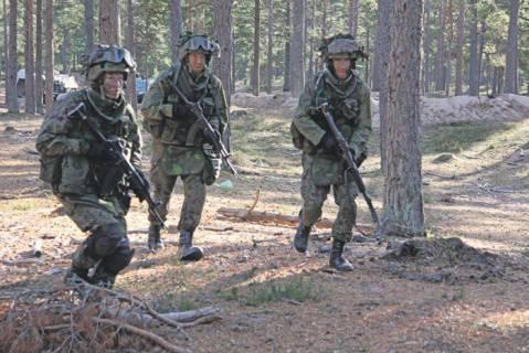 军队在俄罗斯的西北边界