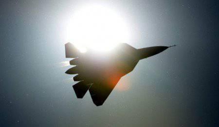 """""""Dry"""" ha sollevato in aria il quinto combattente 5-esima generazione, costruito a Komsomolsk - on - Amur"""