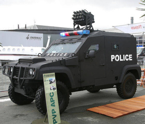 Russian Ministry of Internal Affairs shows interest in French MIDS and PVP armored vehicles