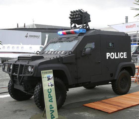 Ministério do Interior da Rússia mostra interesse em veículos blindados franceses e veículos blindados PVP
