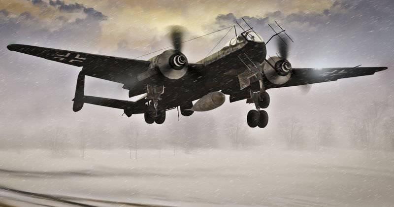 """He-219""""菲林"""":夜间捕食者"""
