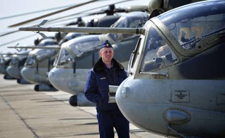 2013では、ロシア空軍は30以上の新しいヘリコプターを受け取りました