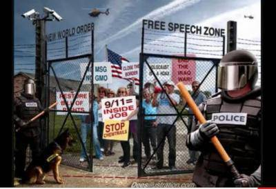 """USA - """"Peaceful Concentration Camp"""""""