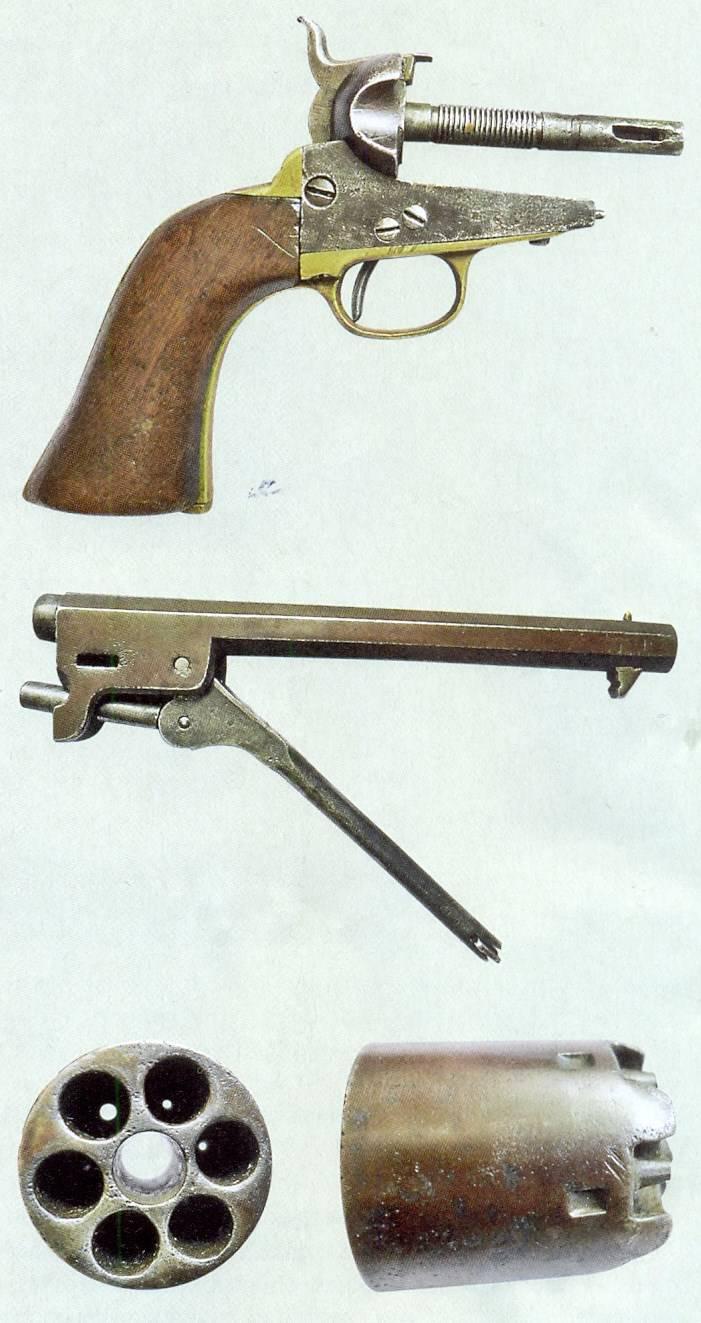 Revolvers de casquette de Colt dans l'empire russe