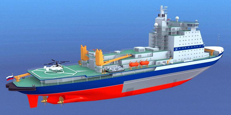 11月X日、NUMX Baltzavodは新世代の主力原子力砕氷船を迎えます