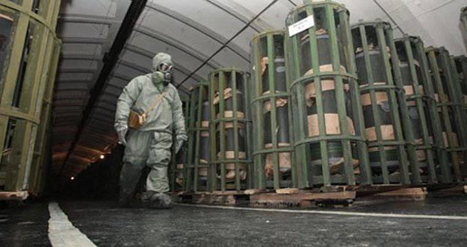 Armes chimiques. Élimination ou amélioration?