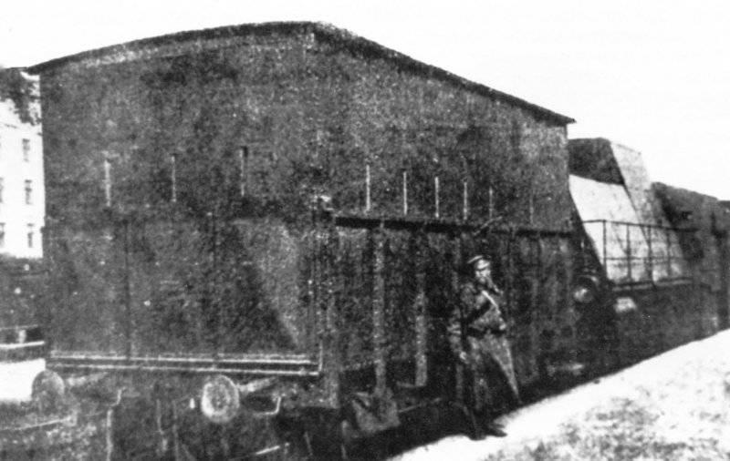 Первый русский бронепоезд