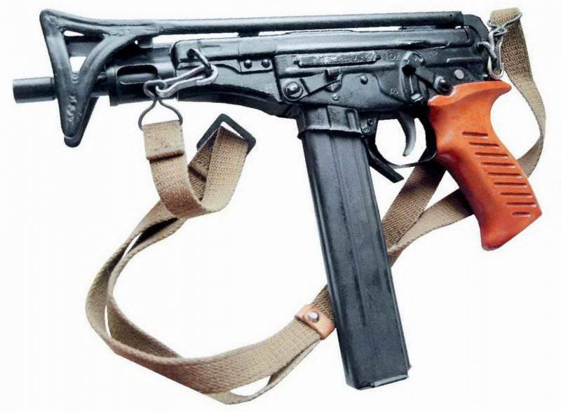 Современный пистолет-пулемёт «