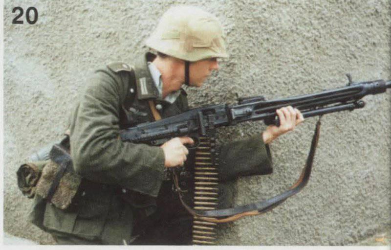 Пила Гитлера и ее наследники (от MG.42 до MG3)