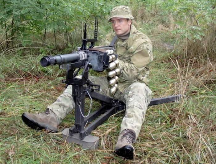 Ucrânia criou o lançador de granadas bielorrusso