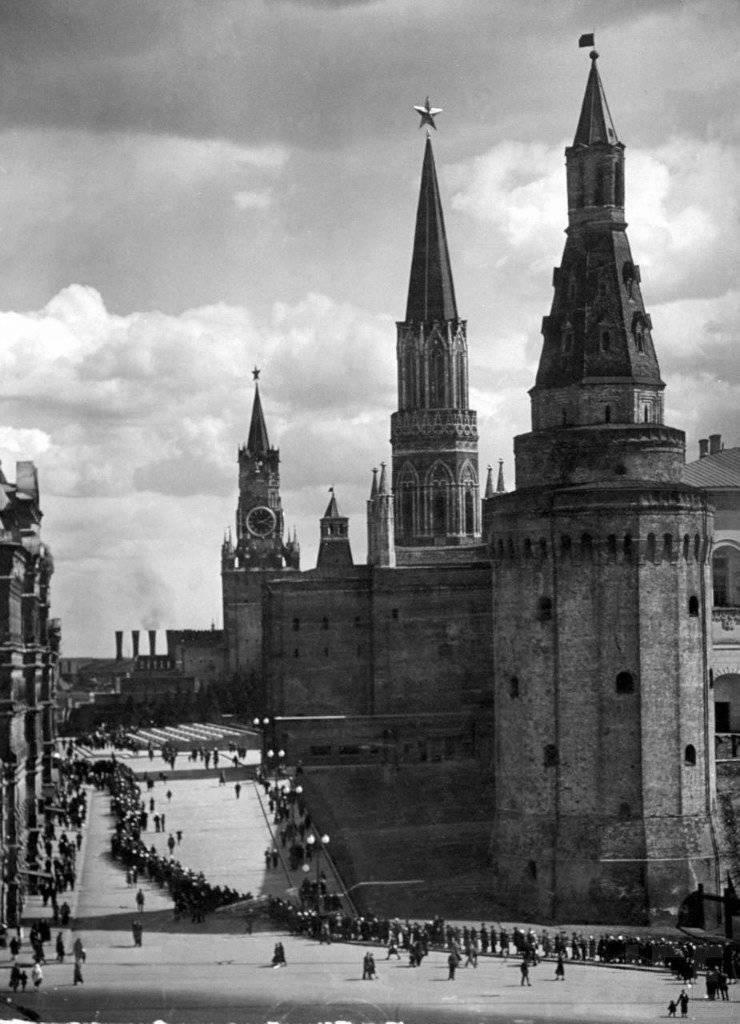 La vita nell'URSS in 30-40-ies del XX secolo