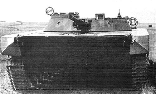 """Proyecto del tanque flotante """"Objeto 911B"""""""