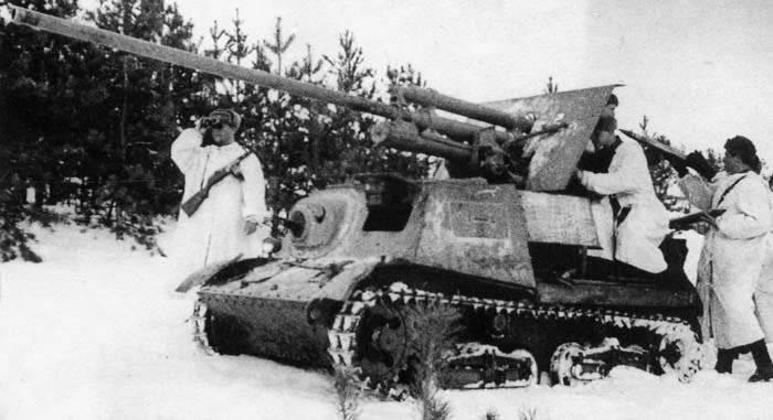 САУ. Отечественные противотанковые самоходные артиллерийские установки. Часть 1-я