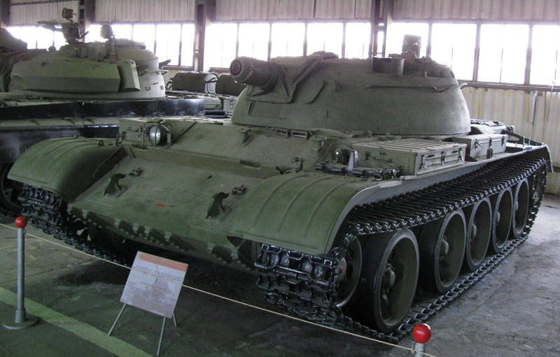The latest flamethrower tanks of the Soviet Union