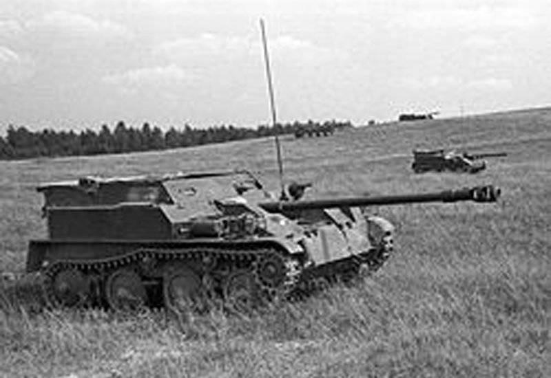 Artillerie nationale anti-char automotrice. Partie 2