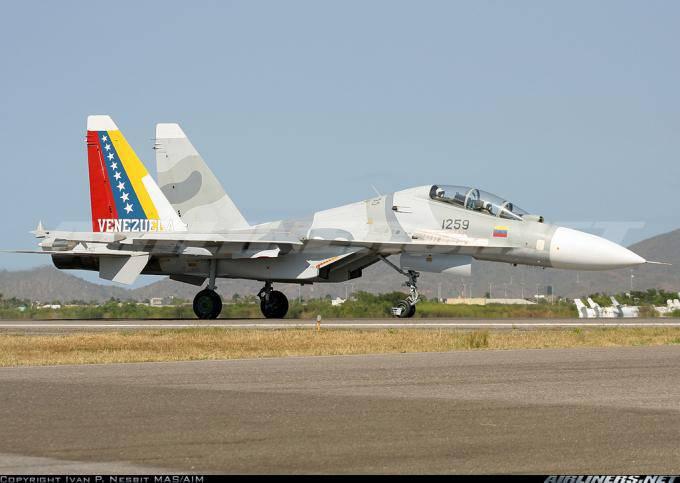 Su-30 derribó a la mafia de las drogas