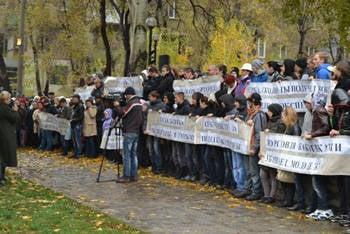哈尔科夫抗议