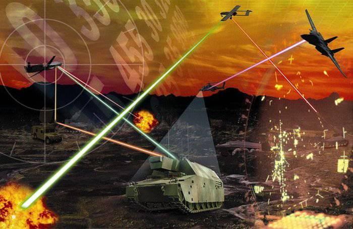 Amerikanische UAVs erhalten Laser zur Wartung