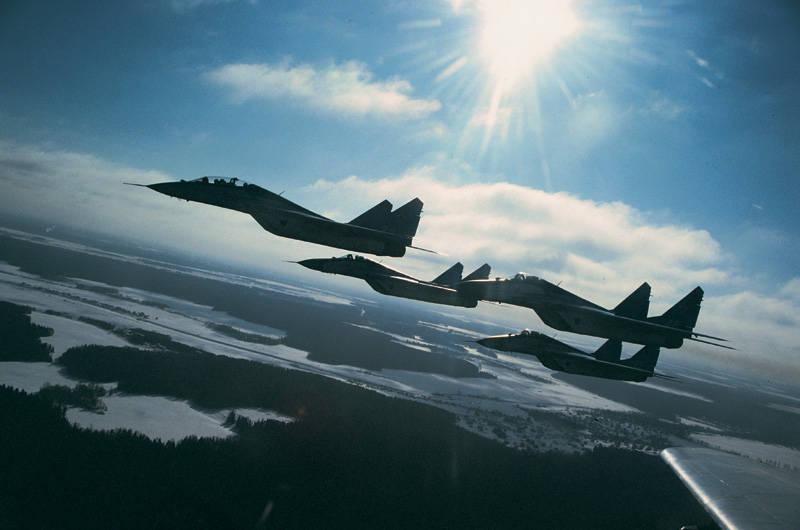 Die russische Luftwaffe wird ihre Präsenz in drei Richtungen verstärken