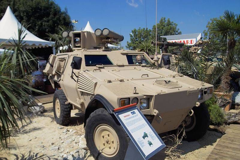 Russian-French projects of armored combat vehicles