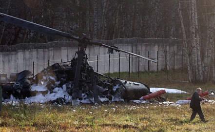 出典:Ka-52はローターの欠陥のためにモスクワで落ちる可能性があります