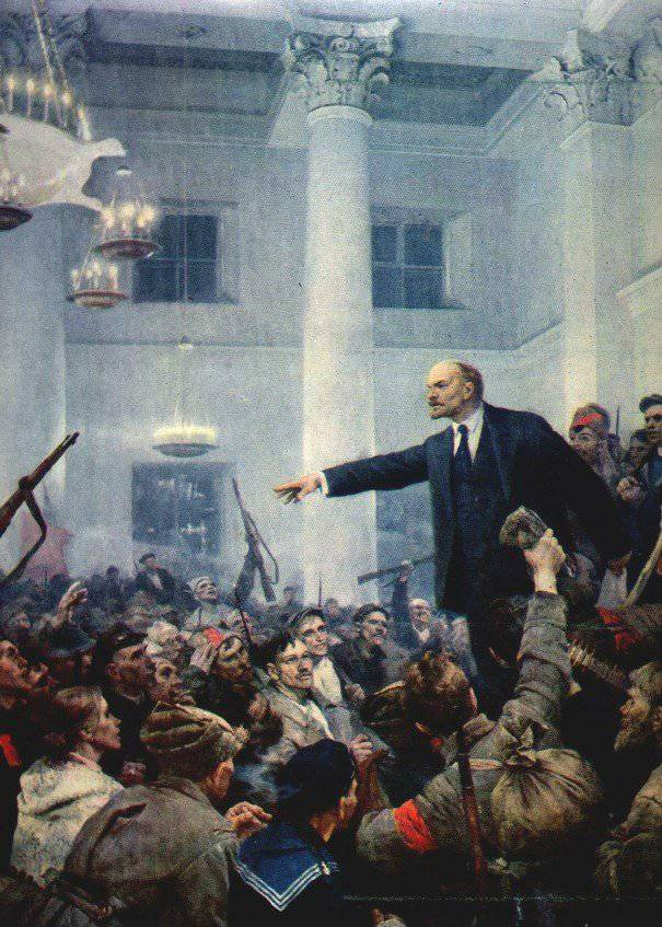 October Revolution Day 1917 Year in Russia