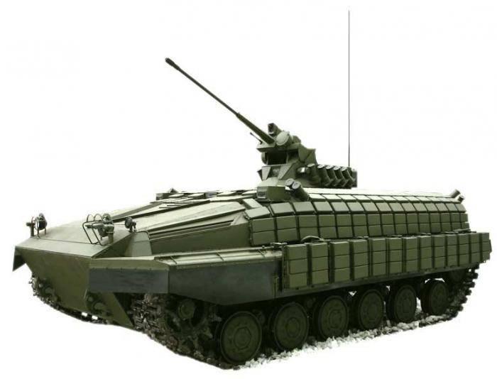 乌克兰BMP基于T-64坦克