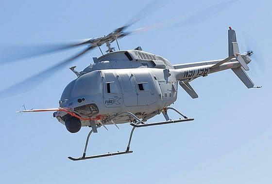 """""""Northrop Grumman"""" a commencé les tests en vol de l'UAV MQ-8C """"Fire Scout"""""""
