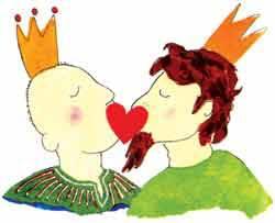 Страшная сказка о том, как король полюбил короля