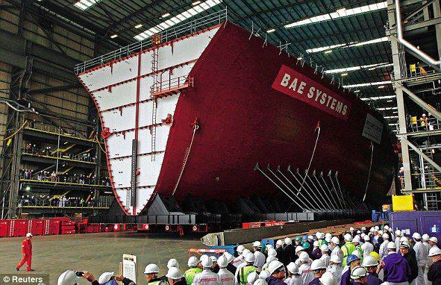 Three shipyards decide to close in the UK