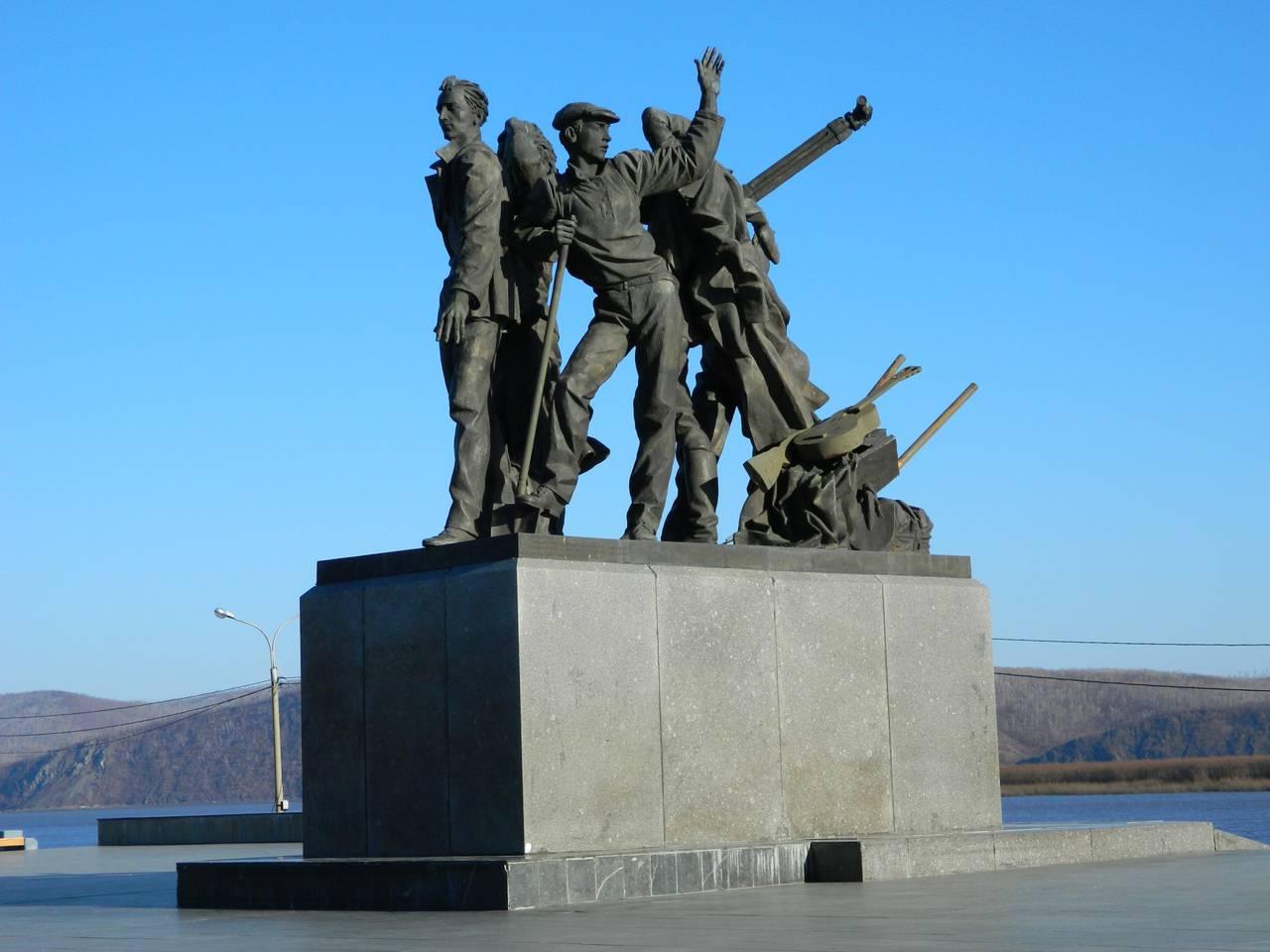 Заказать памятник Комсомольск-на-Амуре памятник подешевле Электрозаводская